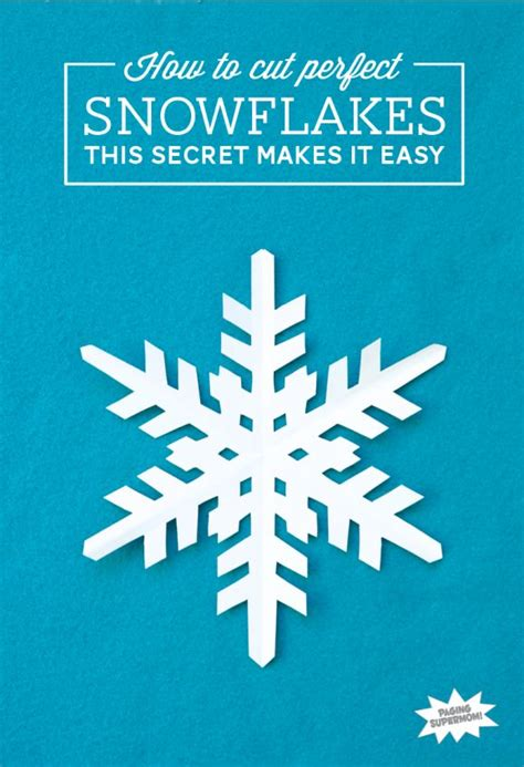 A Snowflake Out Of Paper - best 25 cut out snowflakes ideas on diy