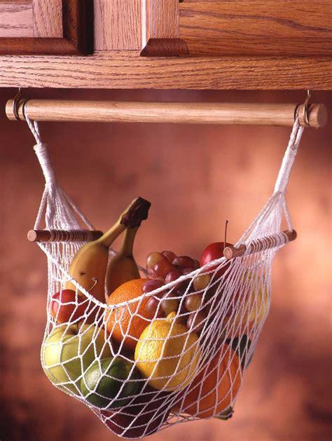 Banana Hammock Kitchen by Cabinet Fruit Veggie Hammock Prodyne Hh 360