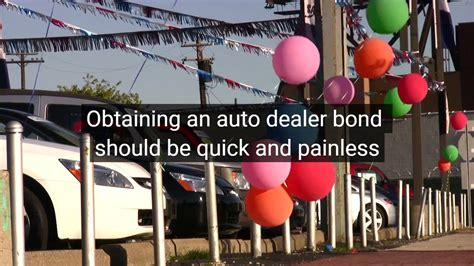 motor vehicle dealer surety bond auto dealer bond motor vehicle dealer surety bond