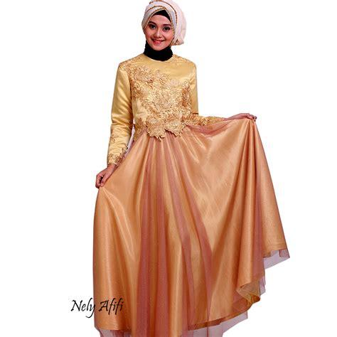 Gaun Pengantin Gliter gaun pesta prada emas dengan tile gliter