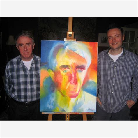 john stewart producer john stewart hardman his portrait with artist stephen b