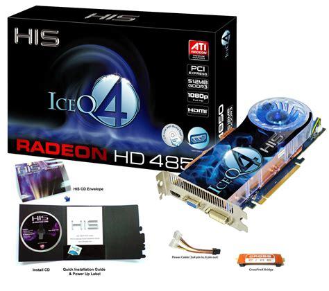 His Radeon Hd4850 Iceq 4 his hd 4850 iceq 4 hdmi 512mb 256bit gddr3 pcie