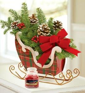 sleigh centerpieces 17 best images about one open sleigh on