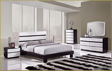 desain kamar tidur warna hitam putih gambar desain rumah