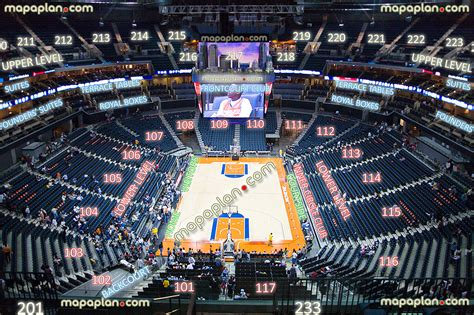 unc basketball seating chart time warner cable arena view from section 233 row f