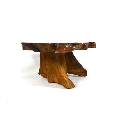 Redwood Coffee Table Californian Redwood Burl Coffee Table At 1stdibs