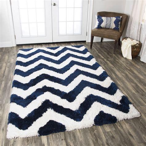 navy chevron area rug commons chevron tufted area rug in navy white 8 x 10
