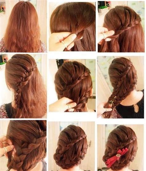 easy and beautiful hairstyles step by step latest and beautiful step by step hairstyles for girls by