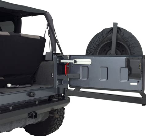 Jeep Wrangler Tailgate Rage Products 7342 Aluminum Tailgate Stop For 87 17