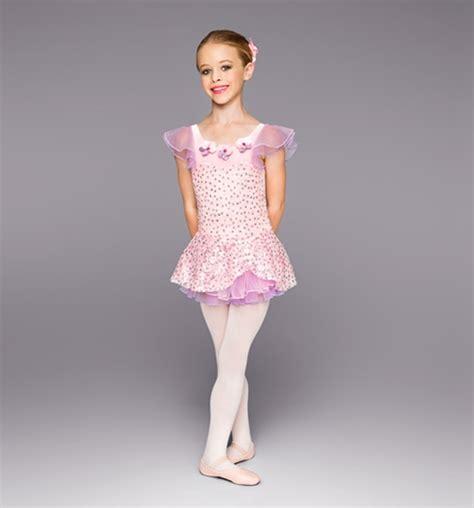 Dress Anak Tutu Balet anak baru balet kostum pink dress pakaian tari balet