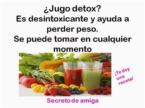 Jugos Detox Recetas by Jugo Detox Verde Nueva Receta Secretodamiga