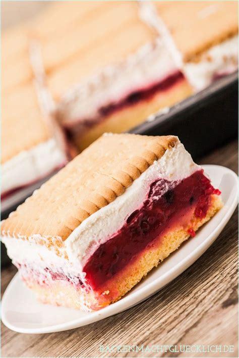 kuchen mit butterkeks die besten 17 ideen zu butterkeks kuchen ohne backen auf