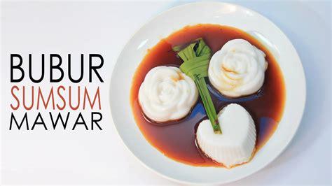 cara membuat bubur sumsum kental cara membuat bubur sumsum mawar cantik youtube