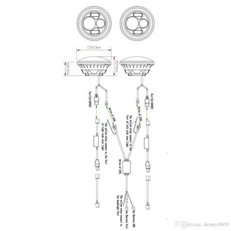 led headlight wiring diagram for motorcycle images