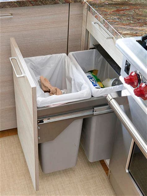 pull out trash and recycling cabinet how to build a pull out trash and recycling bin makely