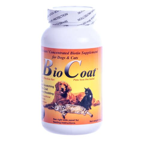 biotin for dogs bio coat concentrated biotin dogs cats supplement for skin coats ebay