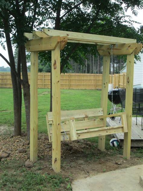 porch swing arbor diy swing and arbor swing plans from from ana white s