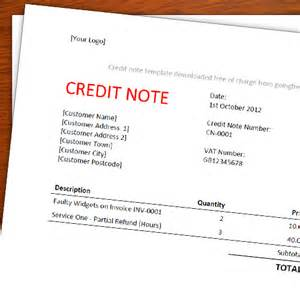 Template Credit Note A Free Credit Note Memo Template For Freelancers