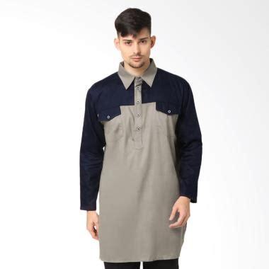 Termurah Gamis Syari Marina Abu Hitam Gamis Terbaru Busana Muslim B jual baju koko modern terbaru terlengkap harga murah