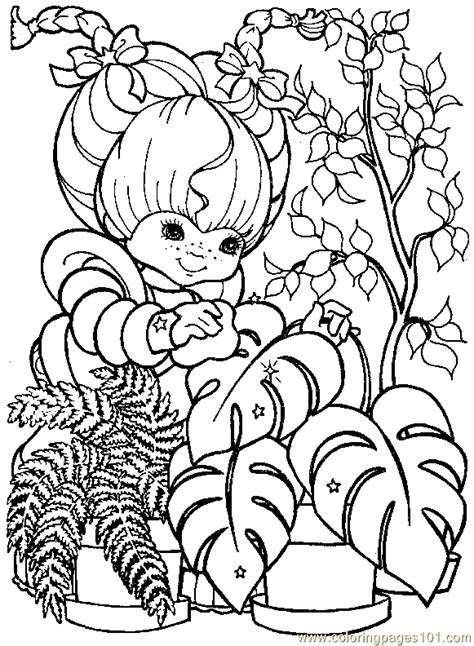 rainbow brite coloring pages free printable coloring pages rainbow bright coloring page 21 cartoons