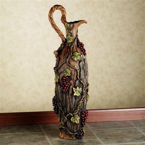 vintage harvest decorative pitcher floor vase home element
