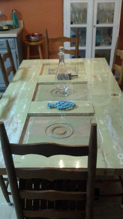 door dining table home door table door tables door decor