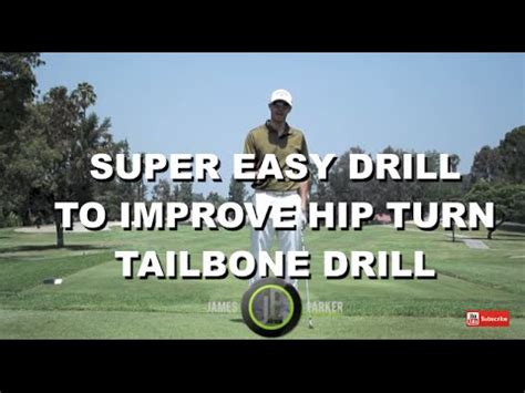 hip turn in golf swing drill hip turn improve your hip turn w 1 min golf swing drill