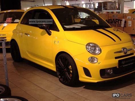 2010 abarth 695 modena yellow tributo no 299v 299