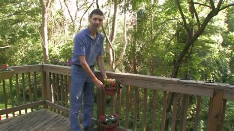 how to install bird feeders on your deck youtube