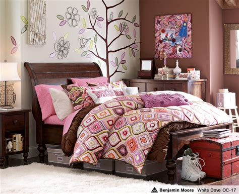 brown and pink teenage bedroom decobizz com 10 amazing teen preteen girl s room ideas before and after