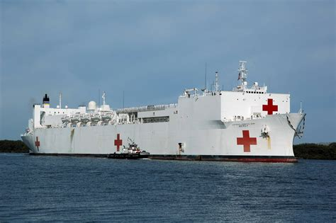 hospital ship us hospital ship to make port call in central