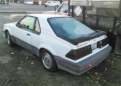 Ford Exp by 550 1986 Ford Exp