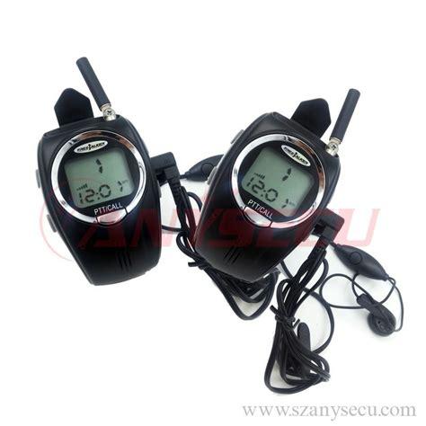 Flyrose Walkie Talkie 1 Pair radio aviation walkie talkie 1 pair mini wrist 2 way interphone rd 028 ham handy watches