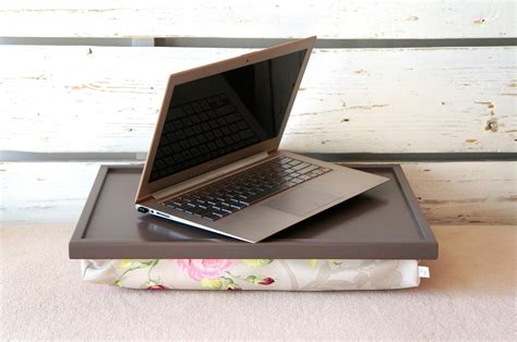 Laptop Tray by Laptop Desk Or Breakfast Serving Tray Greyish Brown