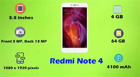 pattern lock redmi note 4 redmi note 4 price all specifications features