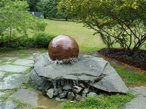 Nature whispering of outdoor garden water fountains garden water