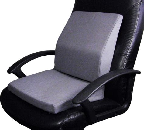 Back Supports For Chairs by Posture Aid Lumbar Back Support Memory Foam Seat Cushion