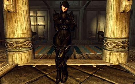 hdt in the body 스카이림 모드 dark ebony valkyrie armor for cbbe body w hdt 여성