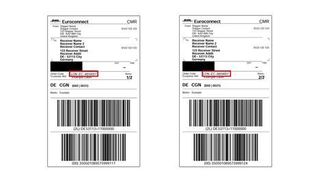 Dhl Etiketten by Tracking Labels Dhl Australia