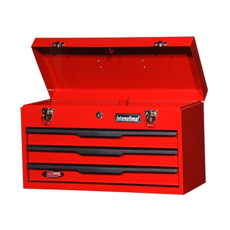 tool box shop international tool storage economy 21 in 3 drawer red