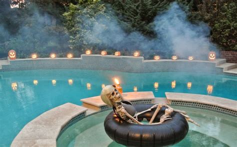 Backyard Pools For Adults 15 Spooktacular Ways To Enjoy Pool Homecrux