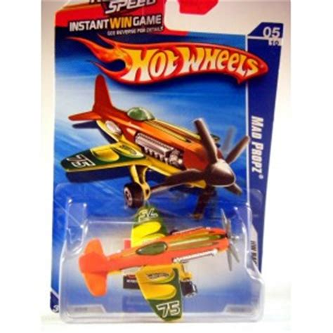 Hotwheels Mad Propz wheels mad propz air race airplane global diecast direct
