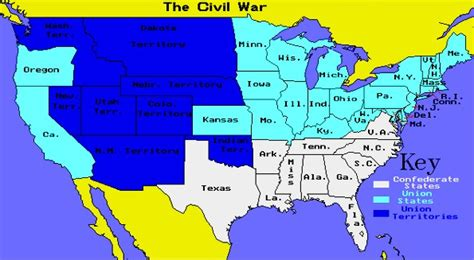 map usa union confederate the reasons for black slavery and of the
