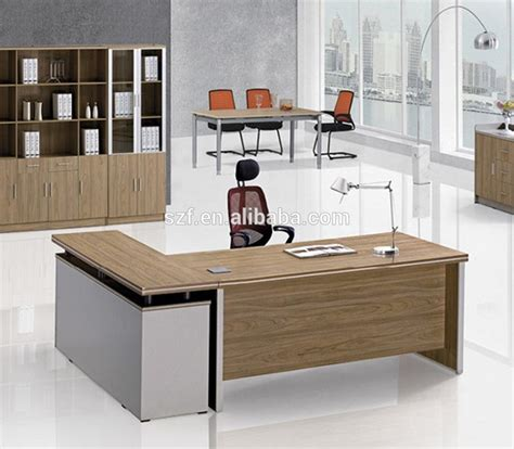modern desk table china high quality luxury table l type office desk