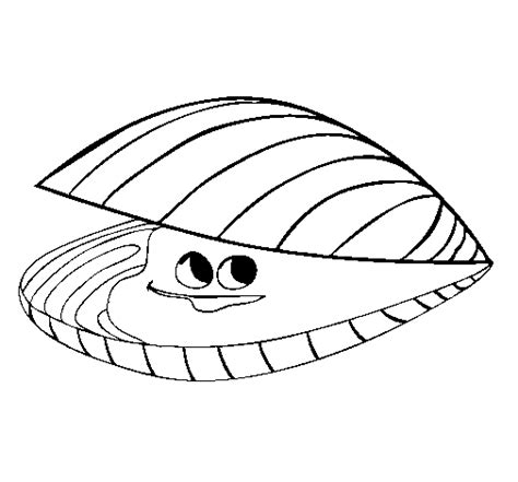 clams cartoon coloring pages coloring pages