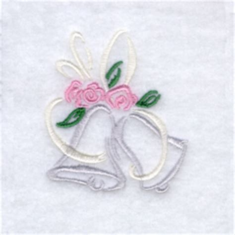 embroidery design wedding wedding bells embroidery designs machine embroidery