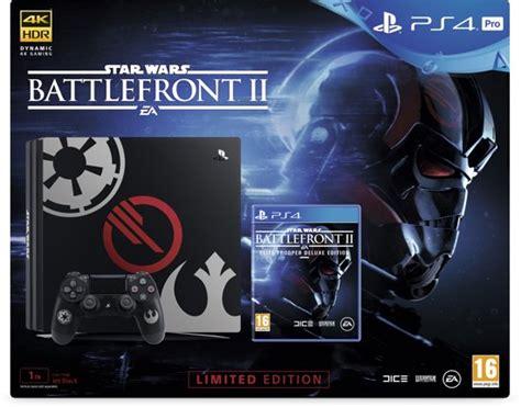 wars battlefront 2 console bol sony playstation 4 pro wars battlefront ii