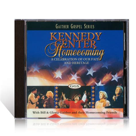 Kennedy Center Gift Card - kennedy center homecoming cd gaither