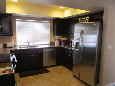 black cabinets installed by kitchen az cabinets make a