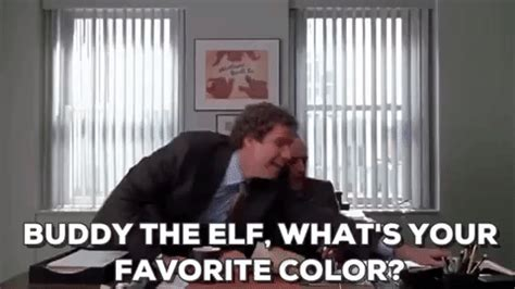 buddy the favorite color whats your favorite color gifs find on giphy